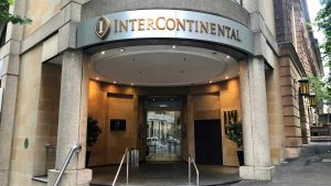 InterContinental Sydney entrance