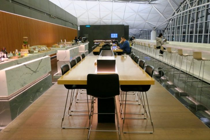 Cathay Pacific The Wing First Class lounge