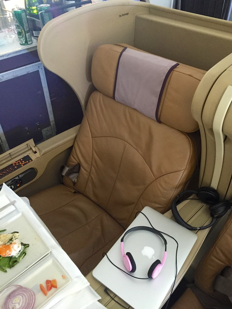 Singapore Airlines 777-300 Business Class