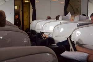 Air New Zealand 777 Business Class