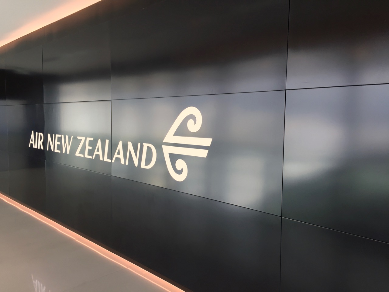 Air New Zealand Auckland International Lounge Entrance (1)