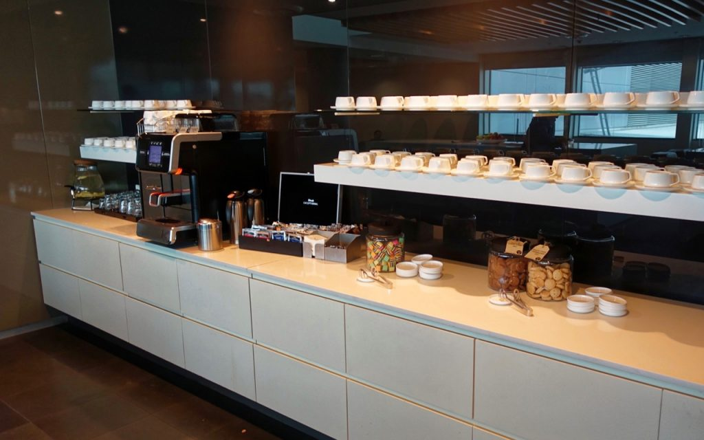 Coffee - Qantas Domestic Business Lounge Sydney (1)