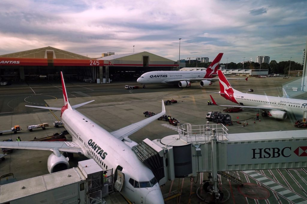 Views - Qantas Domestic Business Lounge Sydney
