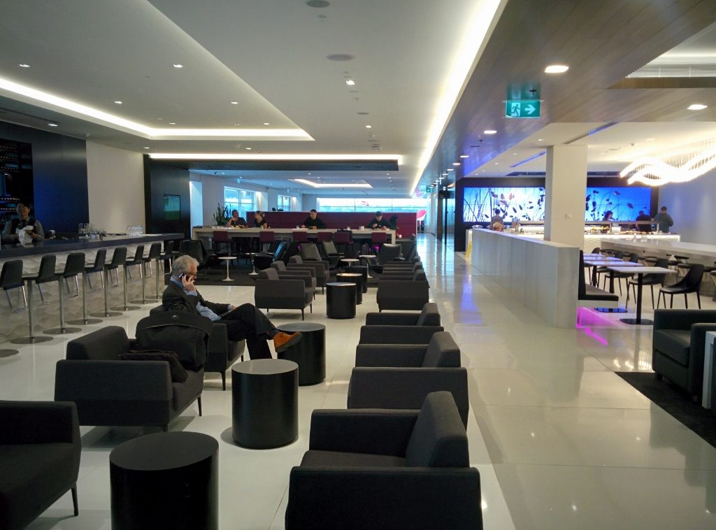 Sydney Air NZ Lounge Business zone 1