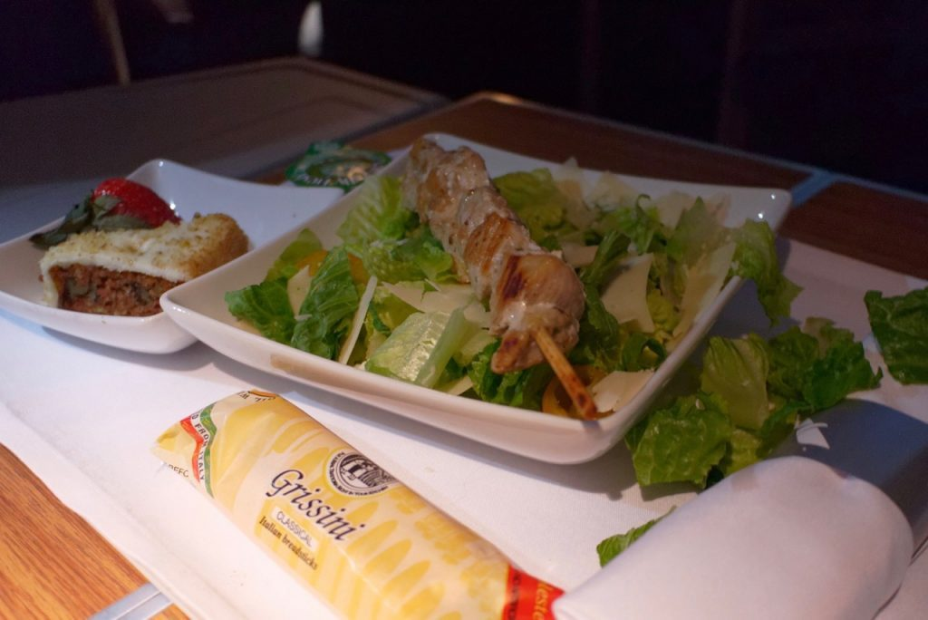 American Airlines AA142 Business Class Dining (3)