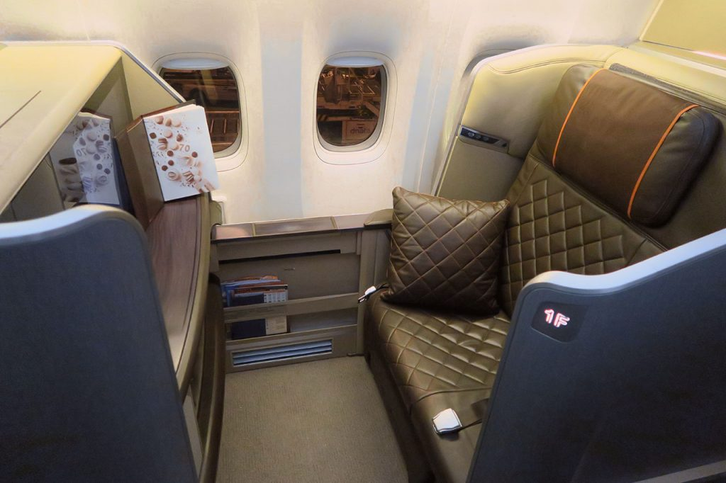 Singapore Airlines 777-300ER First Class Overview - Point ...