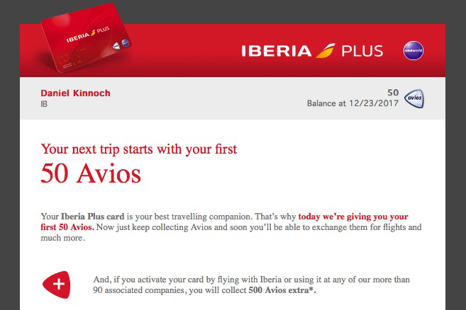 Using Avios Points For Car Hire