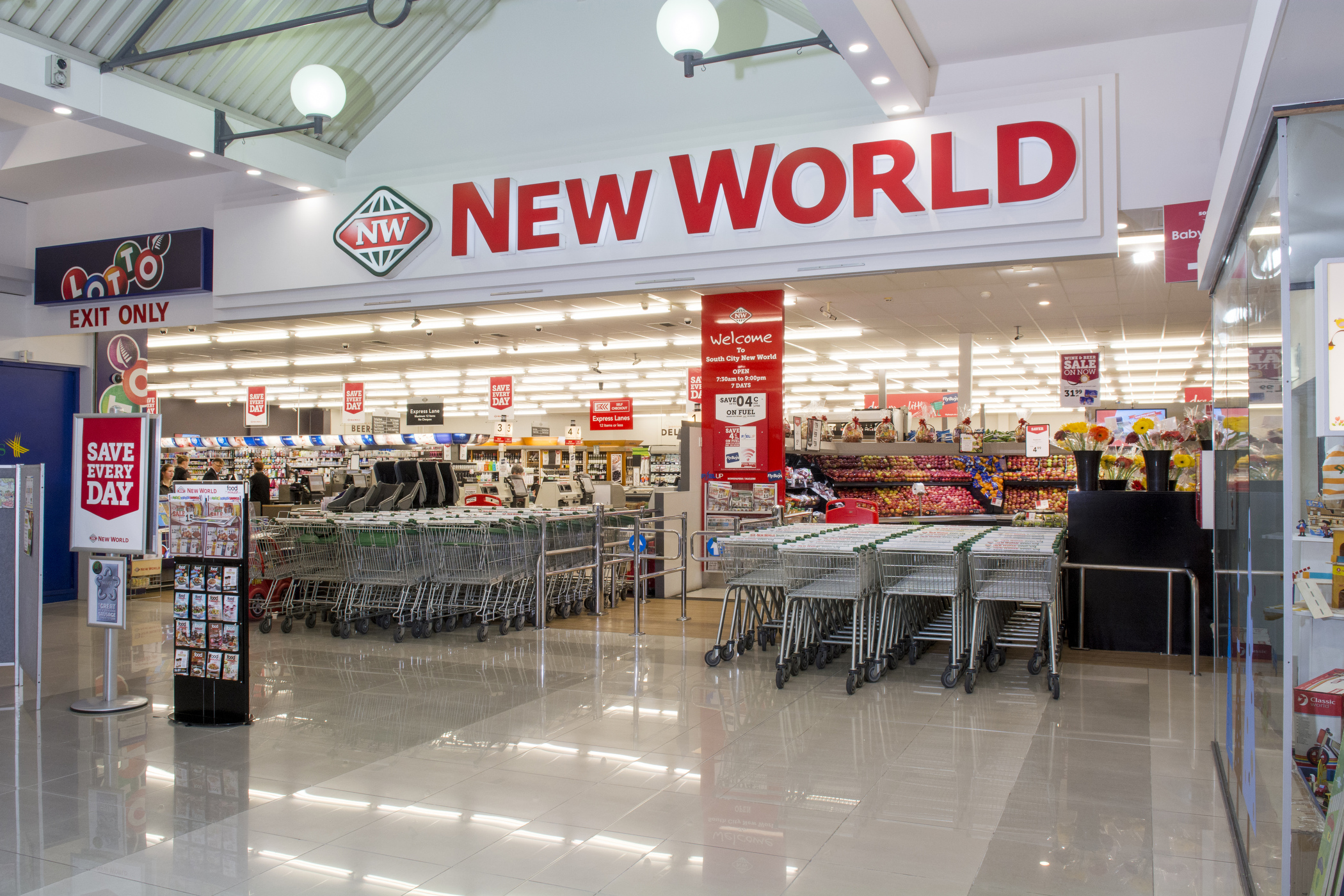 How To Earn Airpoints Dollars Or Fly Buys At New World