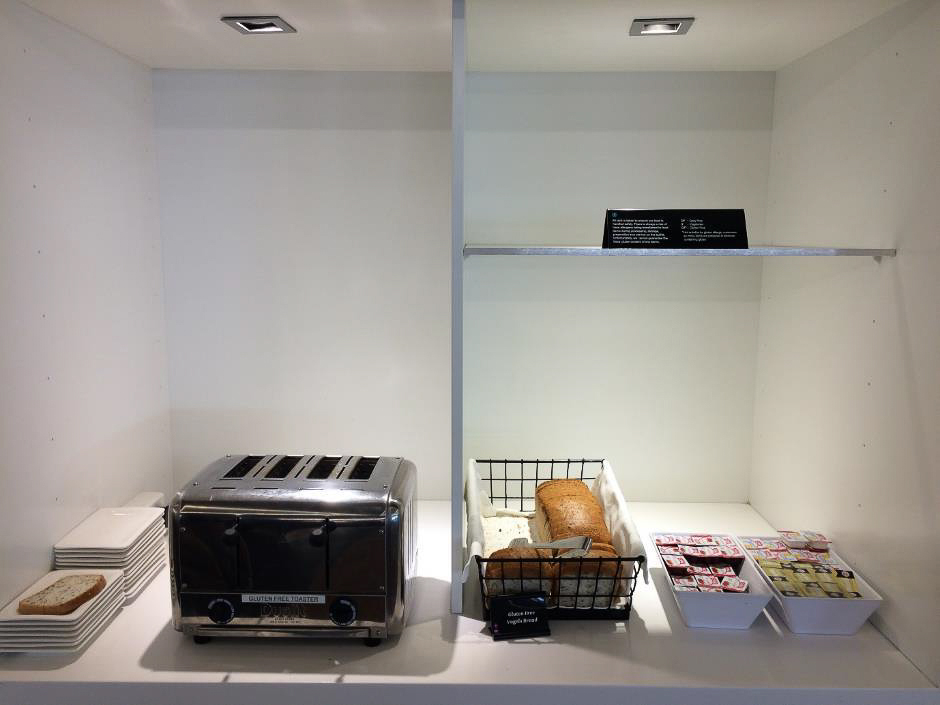 Air New Zealand Auckland Domestic Lounge toaster area