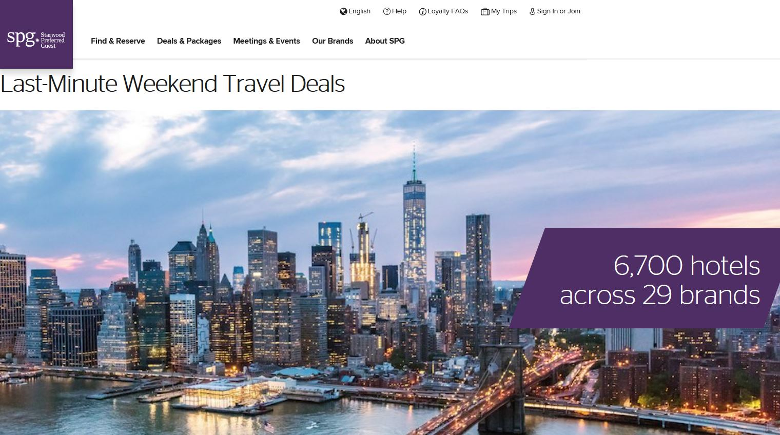 Marriott Weekend Travel Deals