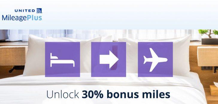 United Miles Hotel Transfer Promo