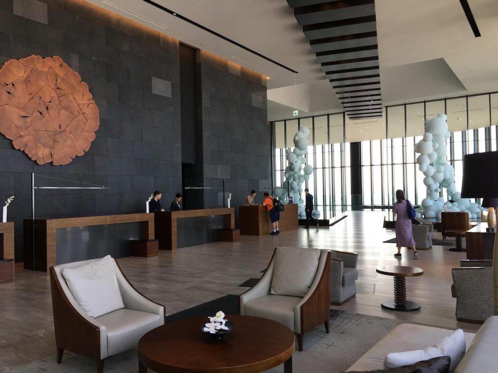 Conrad Osaka lobby