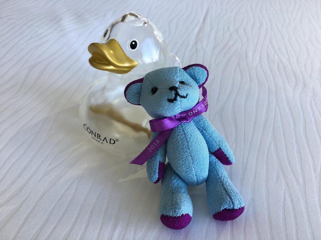 Conrad Osaka complimentary toys