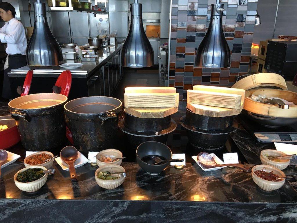 Conrad Osaka Atmos Restaurant breakfast buffet