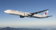 China Eastern aircraft flying