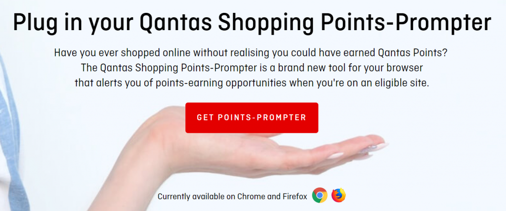 Qantas Points Prompter