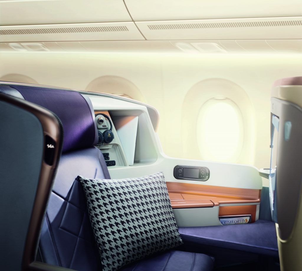 Singapore Airlines A350 Long-Haul Business Class Seat