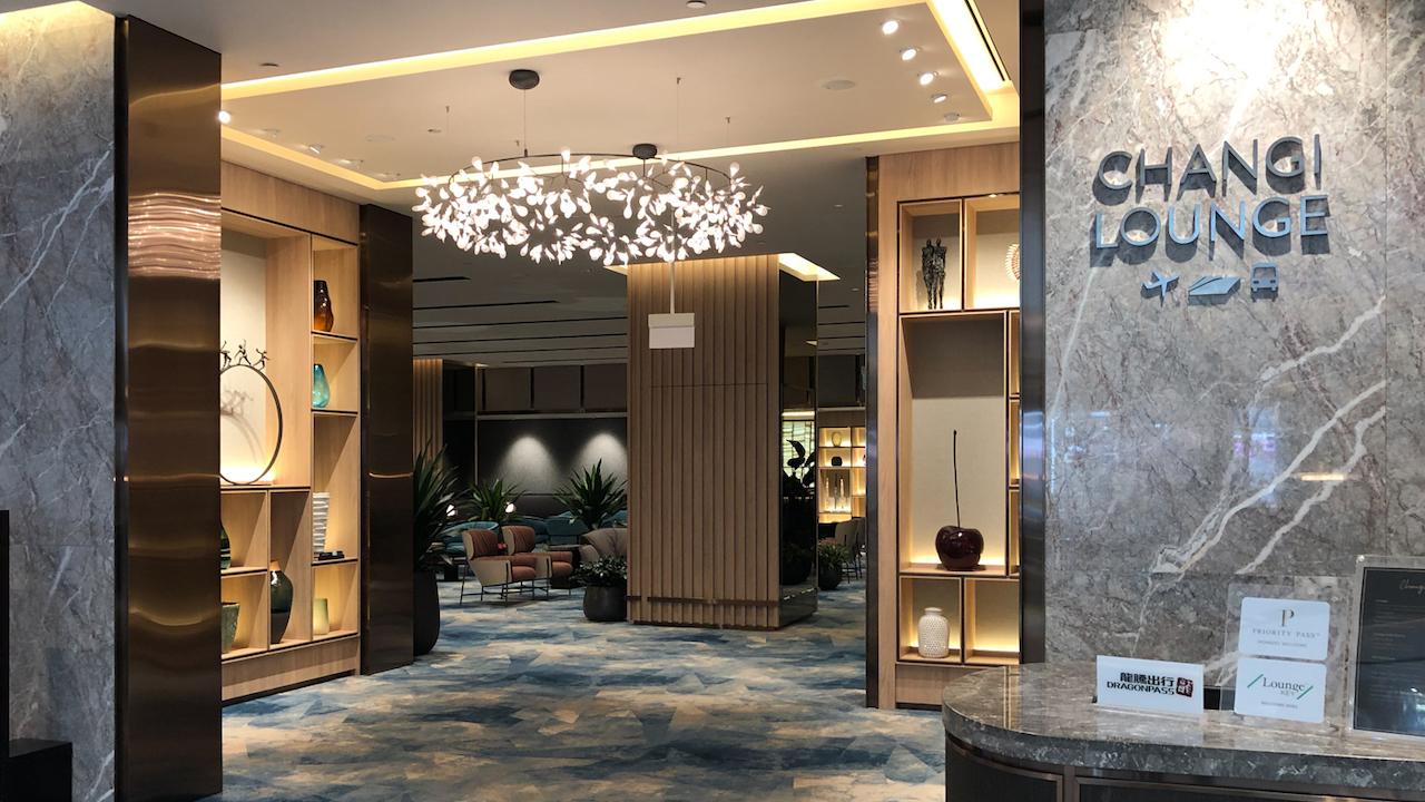 Changi Lounge Jewel Singapore
